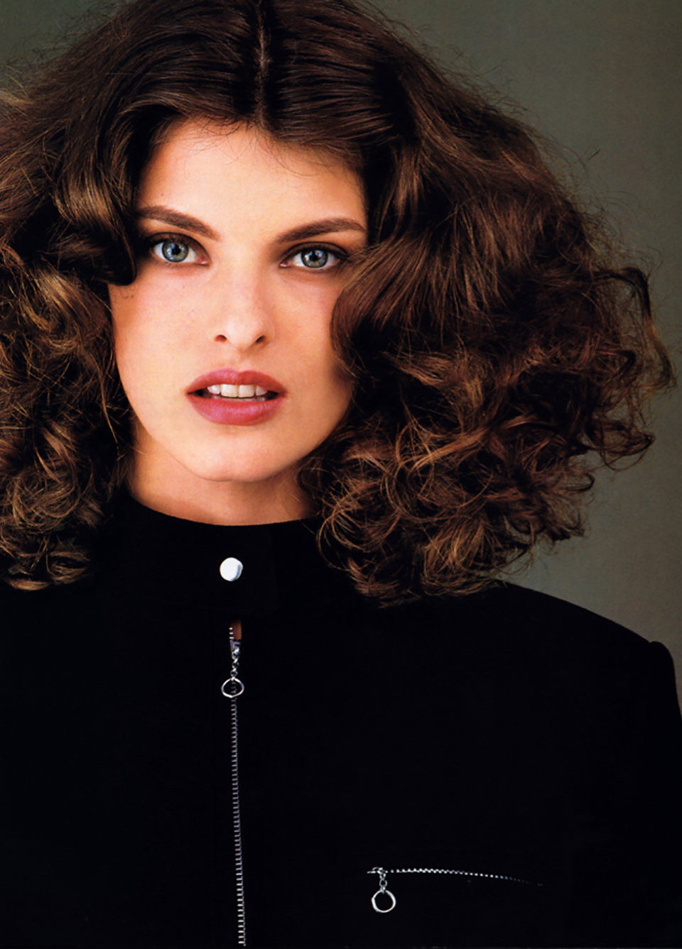 Linda Evangelista Covers The 35th Anniversary Issue Of: Face Of The '80s: Linda Evangelista